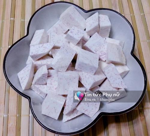 Chè nếp cẩm khoai môn dẻo ngon, thơm mát - 3