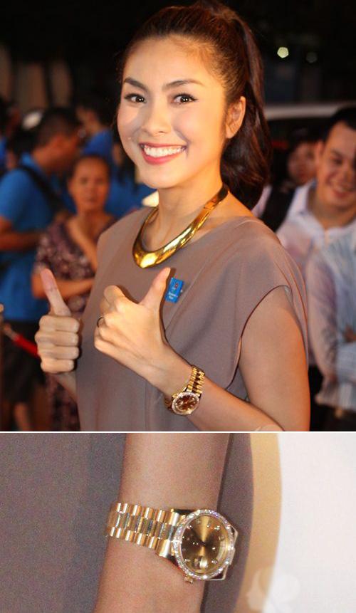 Choáng với đồng hồ kim cương tiền tỷ của giai nhân Việt - 9