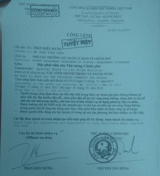 Giả danh đặc phái viên chính phủ, nhiều lần lừa CSGT - 2