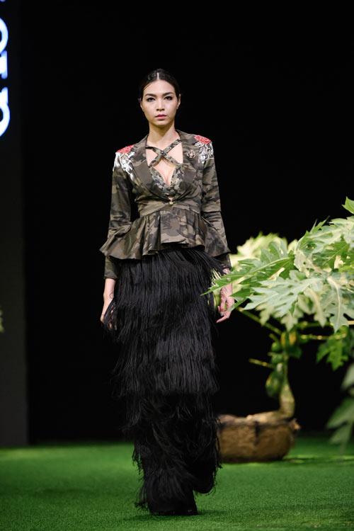 Sắc xanh tràn ngập Tuần lễ Thời trang Việt Nam 2017 - 9