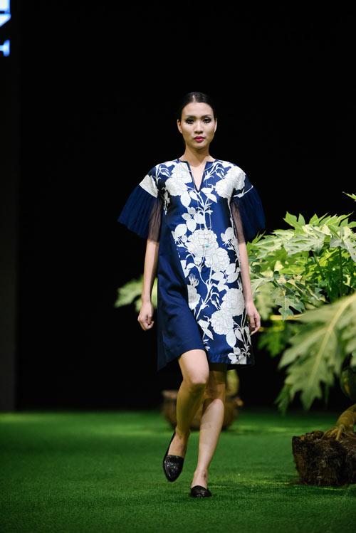 Sắc xanh tràn ngập Tuần lễ Thời trang Việt Nam 2017 - 5