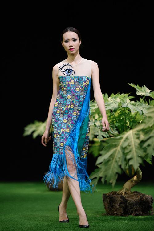 Sắc xanh tràn ngập Tuần lễ Thời trang Việt Nam 2017 - 15