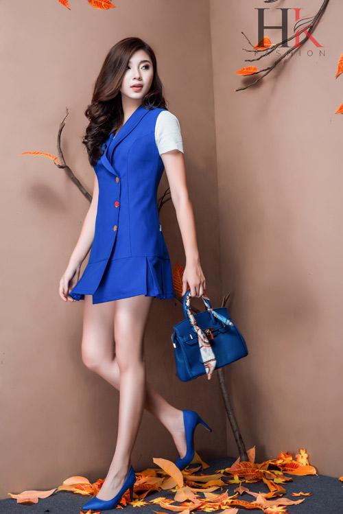 Nữ công sở Việt 'phải lòng' thời trang HK Fashion - 1