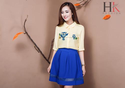 Nữ công sở Việt 'phải lòng' thời trang HK Fashion - 10