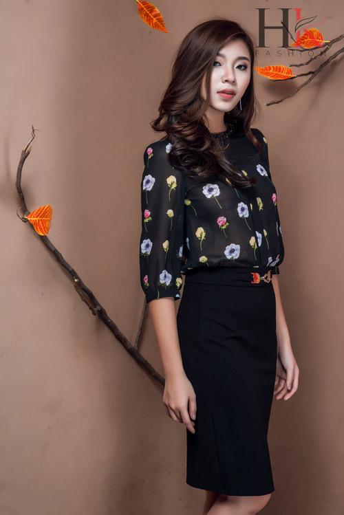Nữ công sở Việt 'phải lòng' thời trang HK Fashion - 4