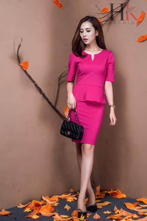 Nữ công sở Việt 'phải lòng' thời trang HK Fashion - 5