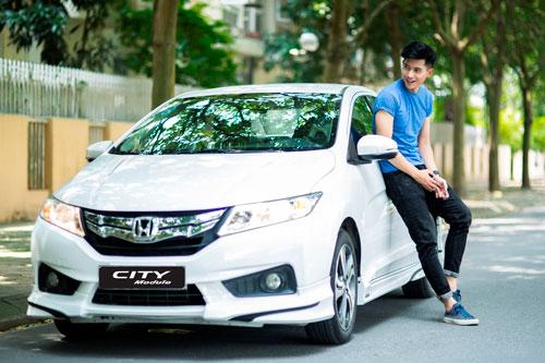 Honda Việt Nam giới thiệu Honda City Modulo 2016 cùng khuyến mại hấp dẫn - 1