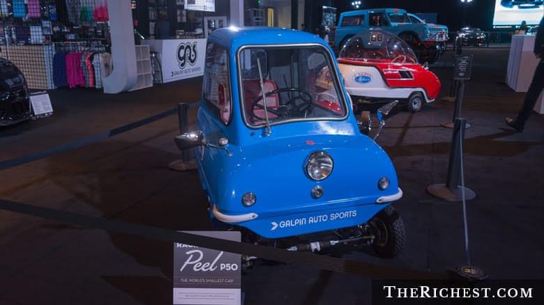 Top 15 mẫu xe nhỏ nhất trên thế giới (P1) - 4
