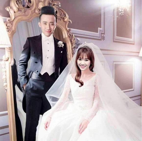 Sốc với ảnh cưới của Trấn Thành - Hari Won - 1