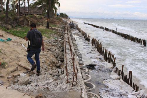 Từng lọt top 25 bãi biển đẹp nhất châu Á, nhưng Cửa Đại đang có nguy cơ bị xóa sổ - 3