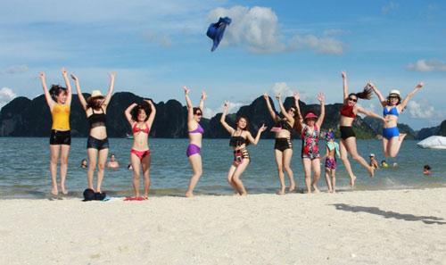 Bãi Dài, bãi biển miền Bắc siêu hot cho chuyến du lịch mùa thu - 2