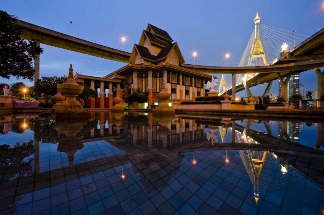 Thành phố Bangkok, Thái Lan (21,47 triệu du khách quốc tế).