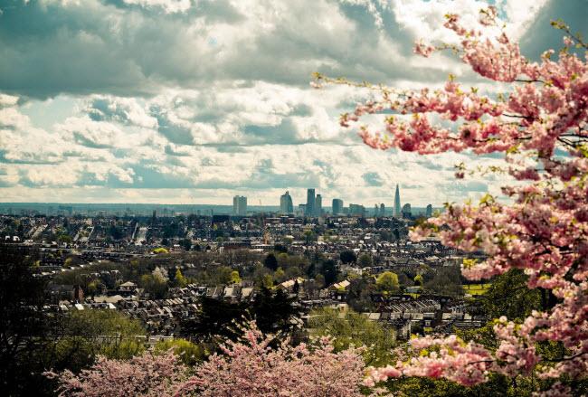 Thành phố London, Anh (19,88 triệu du khách quốc tế).