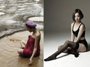 Thời trang - Ngắm dung nhan người mẫu Thái Lan tắm bùn trong ổ gà