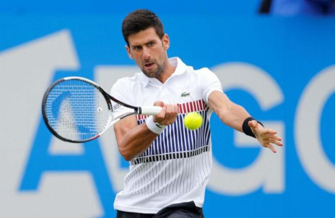 """Tennis chung kết Aegon: Djokovic 174 ngày """"đói"""" danh hiệu - 1"""