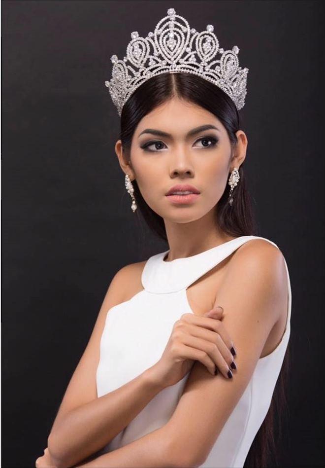 Trầm trồ trước dung mạo tuyệt xinh của hoa hậu Campuchia - 2