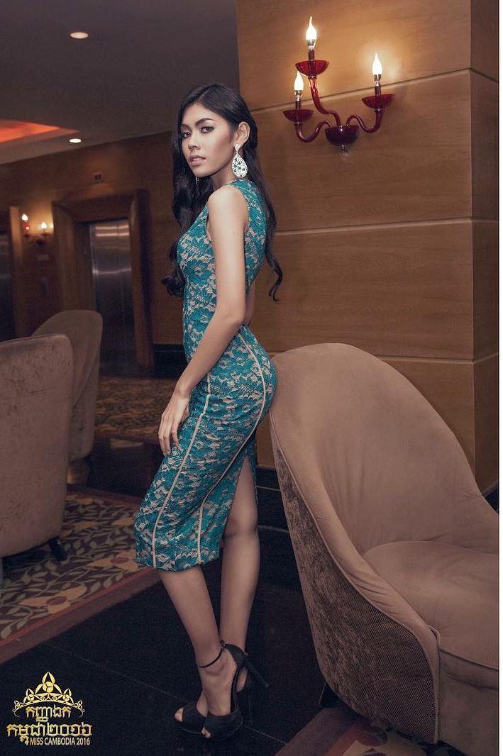 Trầm trồ trước dung mạo tuyệt xinh của hoa hậu Campuchia - 11