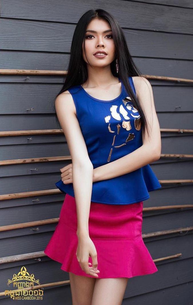 Trầm trồ trước dung mạo tuyệt xinh của hoa hậu Campuchia - 10