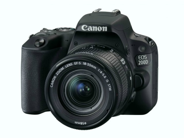 Canon giới thiệu máy ảnh EOS 6D Mark II và EOS 200D