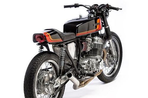 Honda CB750 1970 độ Cafe Racer, đơn giản nhưng tinh tế - 1