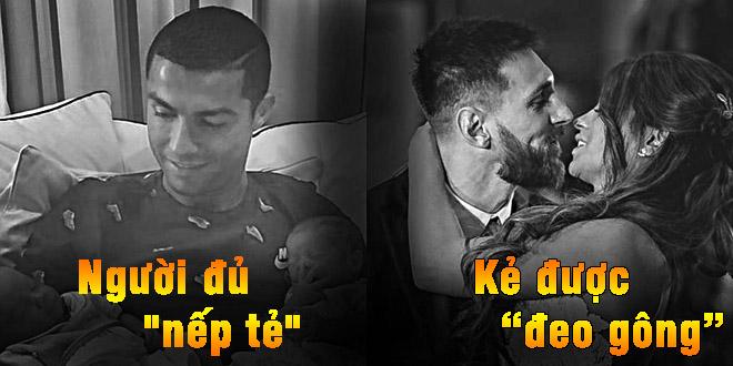 Messi lấy vợ, Ronaldo đón con: Động lực tranh Bóng Vàng thứ 6 - 1