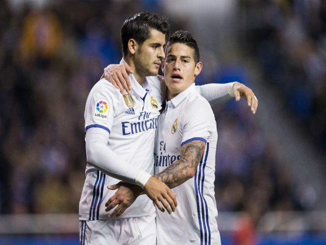 """Real """"thải"""" Morata, James: Bán tương lai, giữ ông già"""