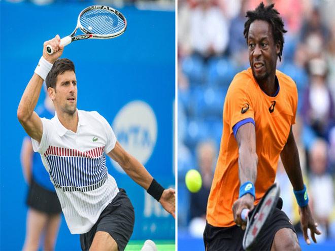 Djokovic - Monfils: Đoạt cúp bằng cái đầu lạnh (Chung kết Aegon) - 1