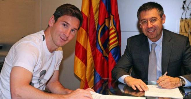 """Messi lấy vợ: An cư lạc nghiệp, ký điều khoản cực """"dị"""" với Barca - 2"""