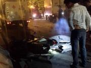 Tin tức trong ngày - Chạy xe ngược chiều trên cầu vượt, 2 thanh niên tử nạn