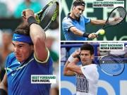 """Thể thao - Wimbledon: Federer, Nadal, Djokovic và các """"vũ khí hủy diệt"""""""
