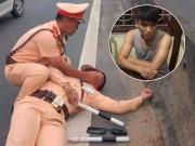 Tin tức trong ngày - Cuộc vây bắt tài xế container hất CSGT bám trên gương xuống đường
