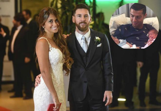 Bất ngờ: Ronaldo không dự đám cưới Messi vì sự cố lãng xẹt - 1