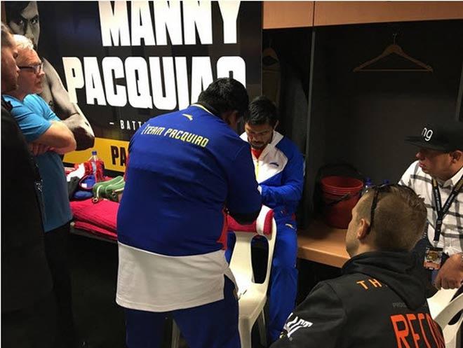 Chi tiết boxing Pacquiao - Jeff Horn: Vỡ òa sau 12 hiệp (KT) - 8