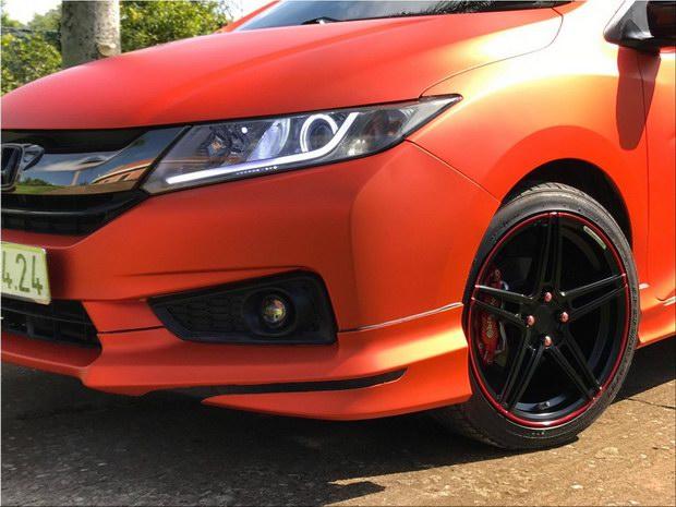 Honda City độ cam nhám ấn tượng tại Việt Nam - 5