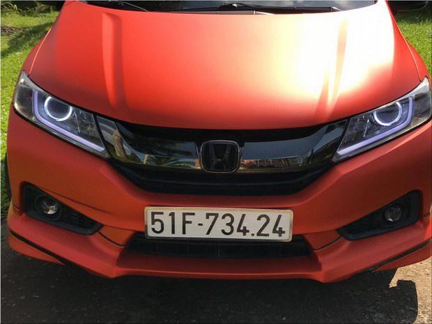 Honda City độ cam nhám ấn tượng tại Việt Nam - 6