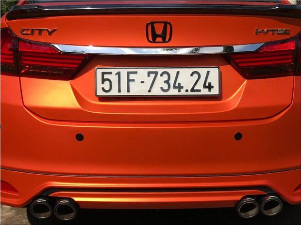 Honda City độ cam nhám ấn tượng tại Việt Nam - 9