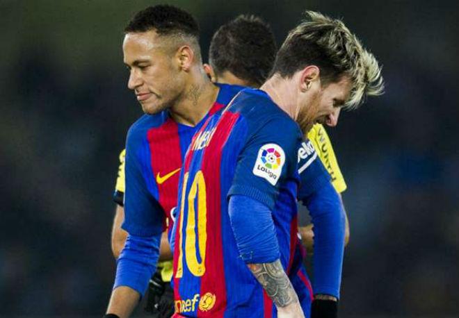 Neymar thua quyền lực Messi: Trốn sang MU hay Real Madrid - 1