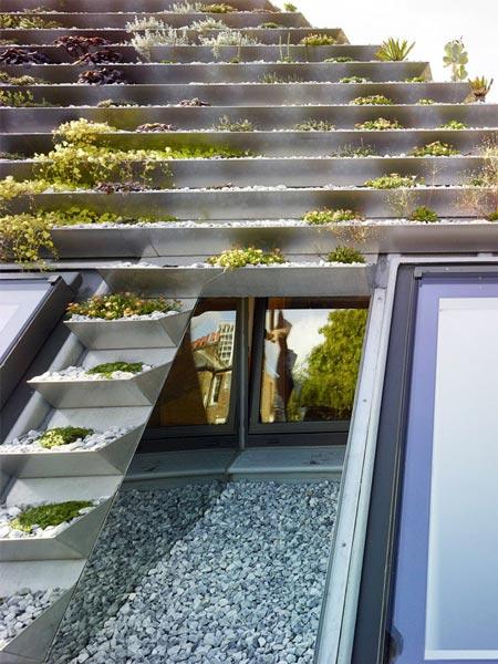 """Không phải núi, ở thành phố cũng có """"vườn bậc thang"""" trên mái - 5"""