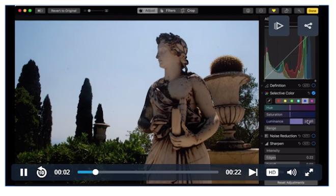8 điều tuyệt vời nhất khi chỉnh sửa ảnh với Photos của MacOS High Sierra - 5