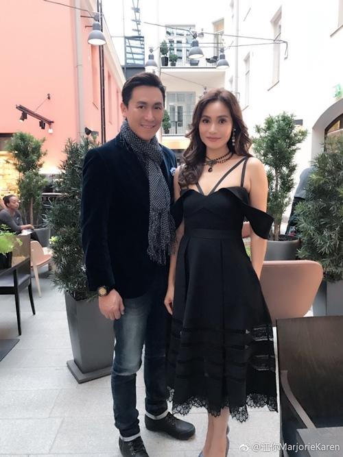 Khánh My phải e dè trước nhan sắc U50 của vợ tài tử TVB Mã Đức Chung - 4