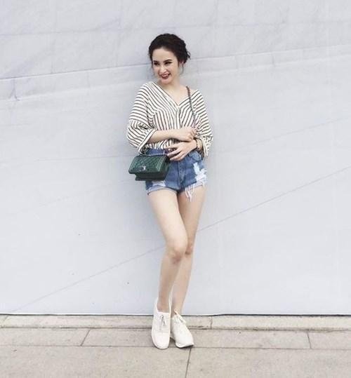 """Hari Won mặc quần siêu ngắn, """"đọ"""" độ nóng với Nhã Phương, Bảo Anh - 11"""