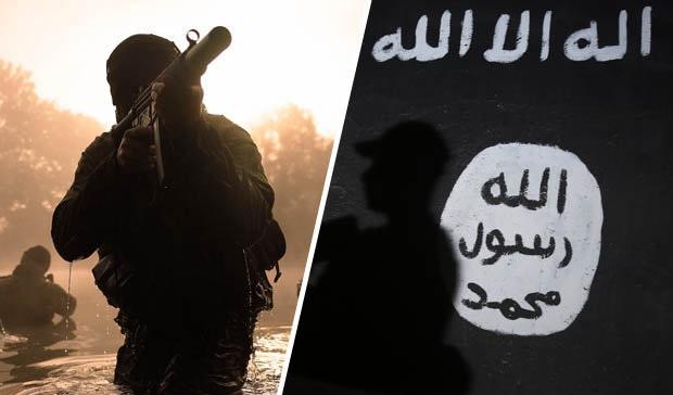 Bước đường cùng, lính Anh dìm chết quân IS bằng tay không - 1