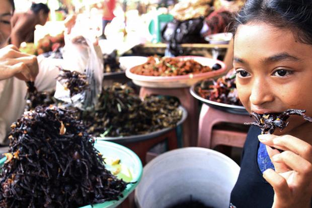 Ngôi làng chuyên ăn thịt nhện ở Campuchia - 2