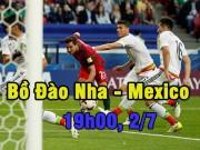 Bóng đá - Bồ Đào Nha – Mexico: Vì danh dự, vì Ronaldo