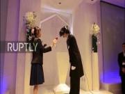 Phi thường - kỳ quặc - Xem đám cưới giữa người thật và vợ trong game ở Nhật Bản