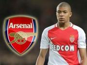 """Bóng đá - Arsenal dựng """"tam giác"""" 220 triệu bảng: """"Cá lớn"""" Mbappe"""