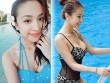 """Vân Hugo, Lã Thanh Huyền đã 1 con vẫn mặc bikini """"nóng rát mắt"""""""