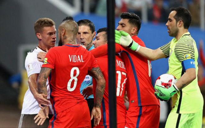 Chung kết Confederations Cup 2017: ĐT Đức quá may, Vidal không phục - 2