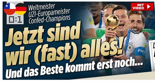"""Đức giành Confed Cup, báo quốc tế tiếc suýt """"ăn ba"""" - 1"""