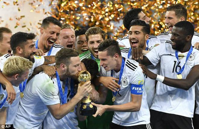Confederations Cup: Người Đức và sứ mệnh hóa giải lời nguyền - 1